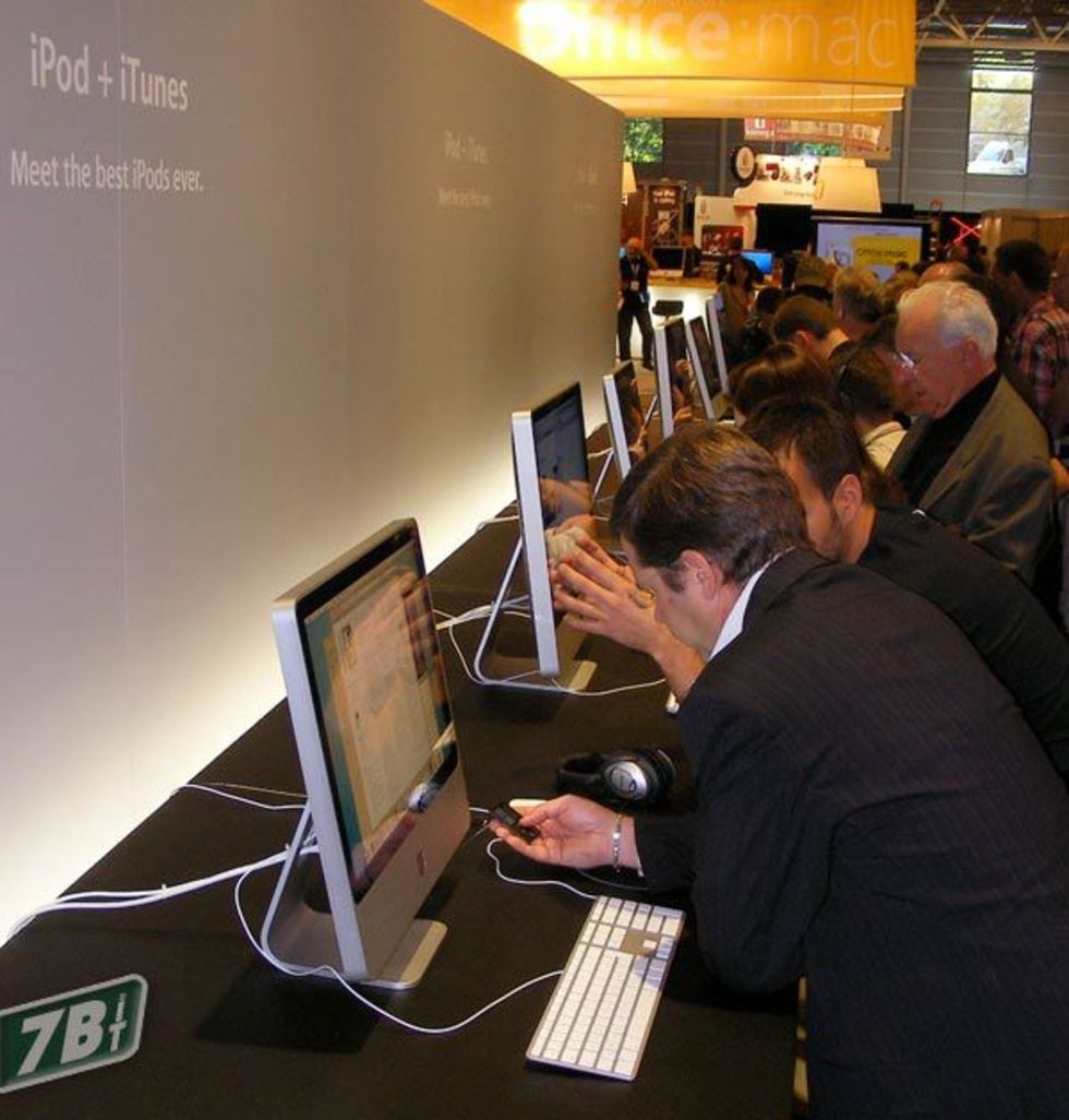 Inget mer Apple Expo i Paris