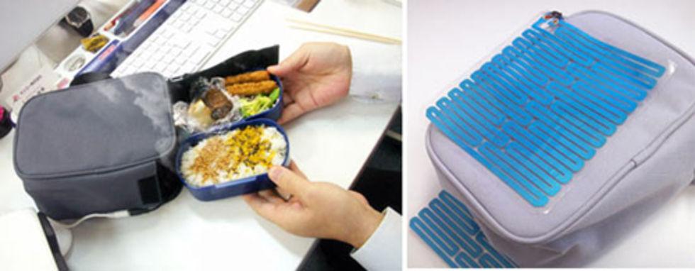 Värm lunchen via USB-kontakten