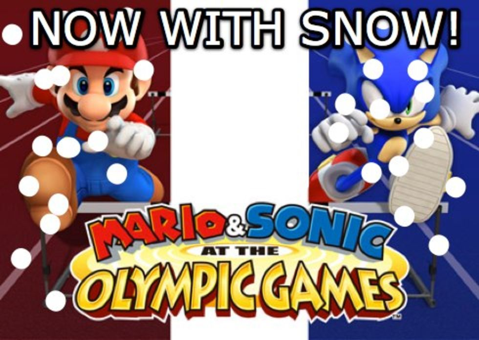 Mer Mario & Sonic at the Olympics?