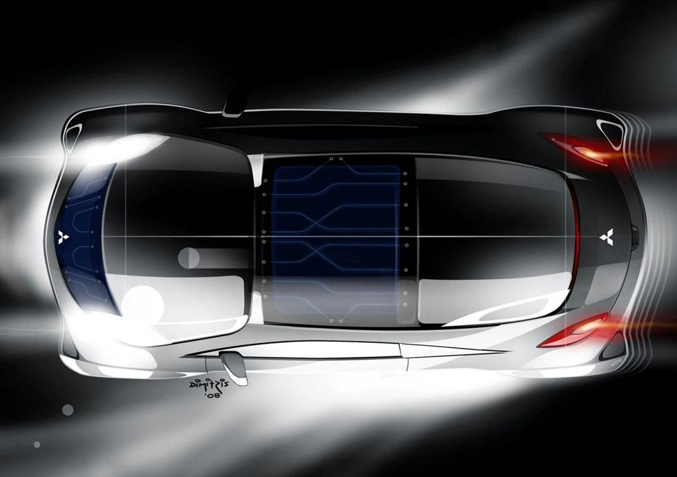 Mitsubishi visar nytt elbilskoncept i Geneve