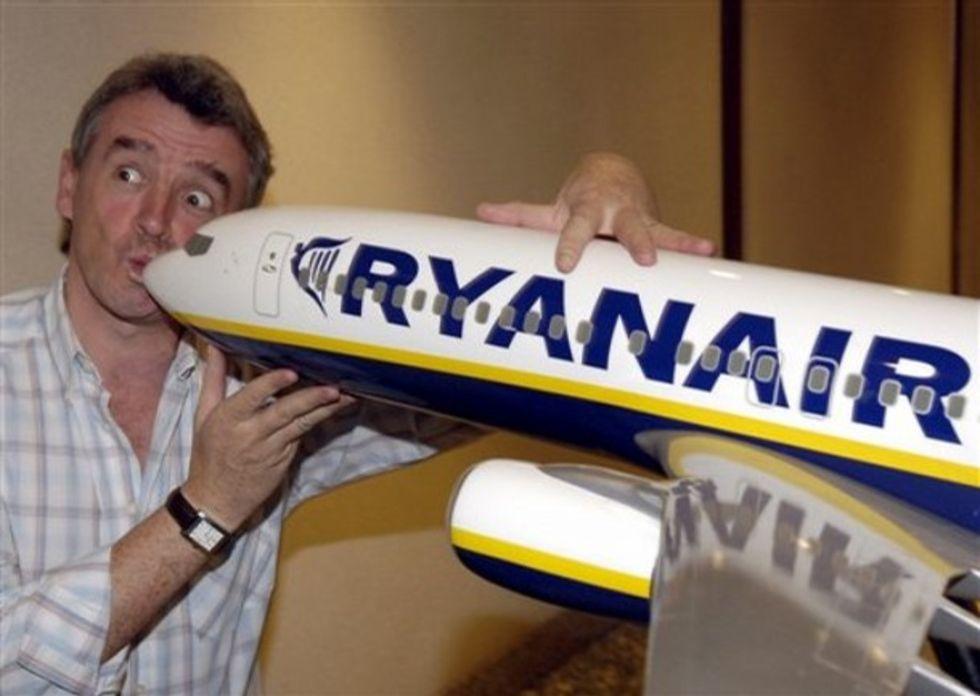Fritt fram för mobilprat hos Ryanair