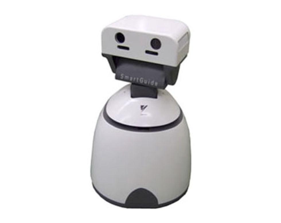 Robotar tar över kontor i Japan