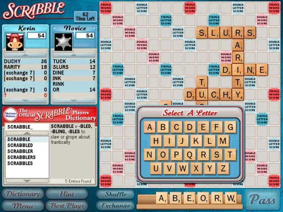 Spela Scrabble!