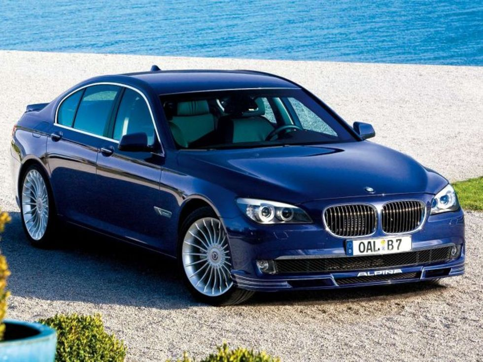 Alpina ger sig på BMW 7-serien