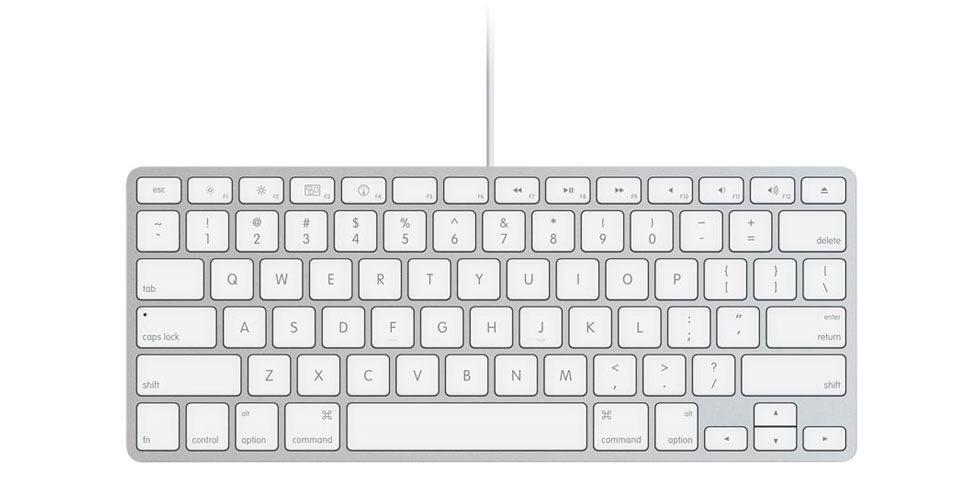 iMac med nytt tangentbord. Utan numeriska delen  aeb391a24a16c
