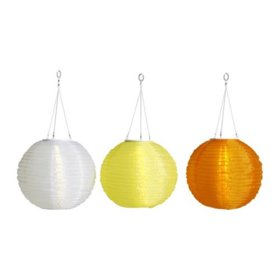 IKEA säljer solcellslampor