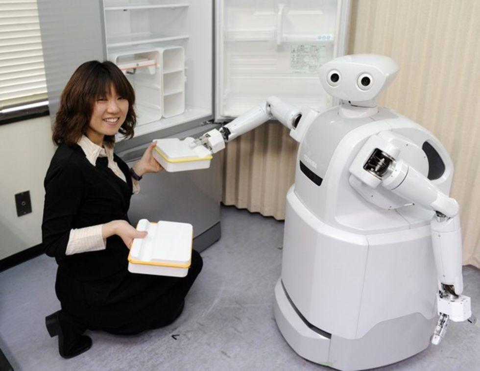 ApriAttenda - ny robot från Toshiba