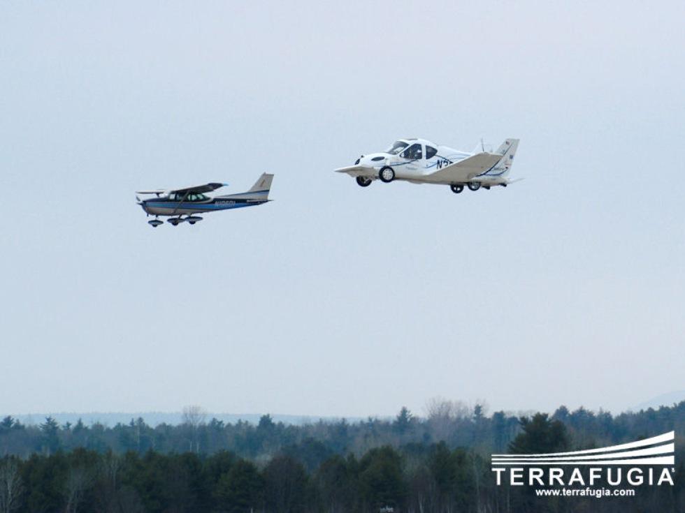Terrafugia Transition - en flygande bil